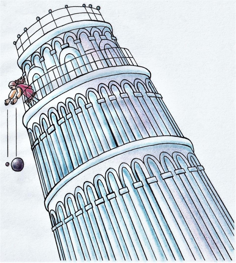 ガリレオ の 落体 の 法則