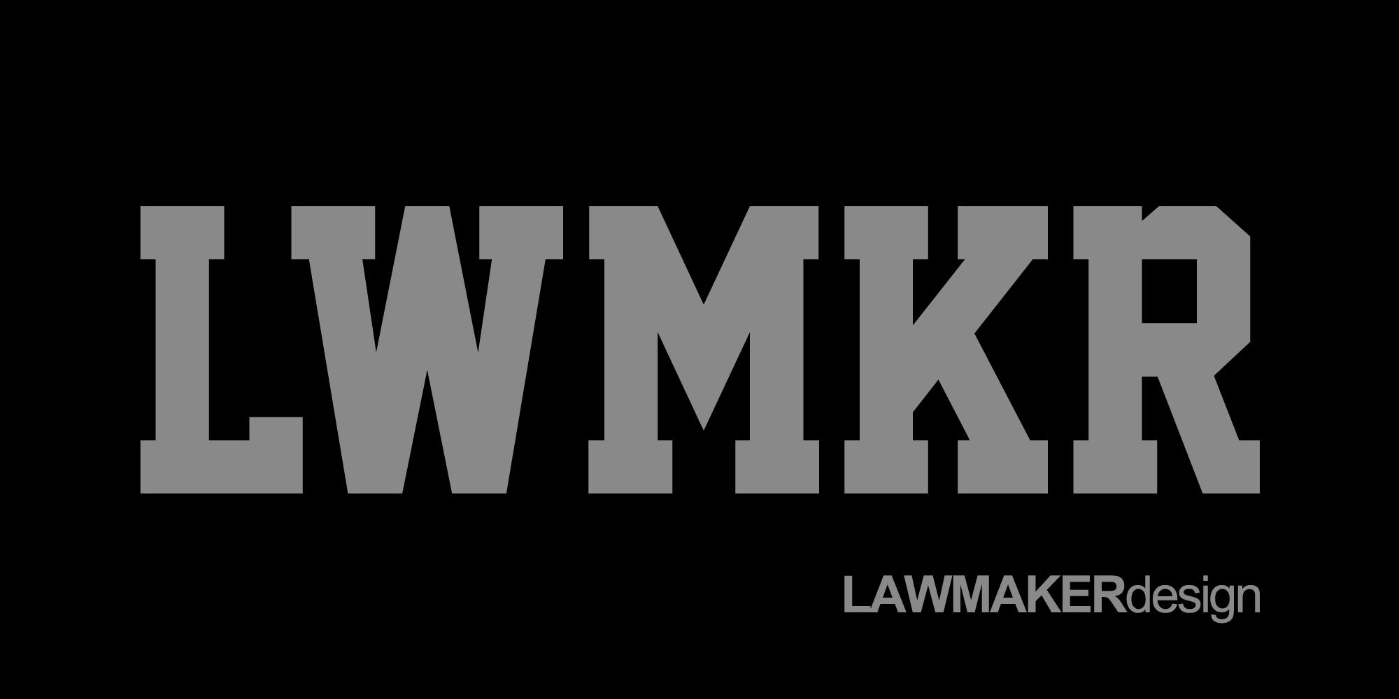 LAWMAKER design