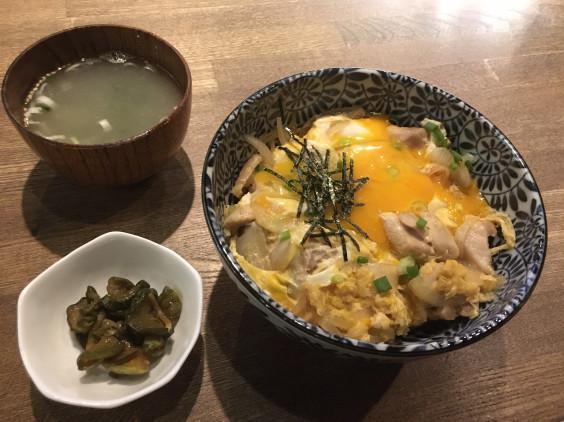 親子丼のある真夜中の長野市街※営業再開十四週目の木曜日でした!   新 ...