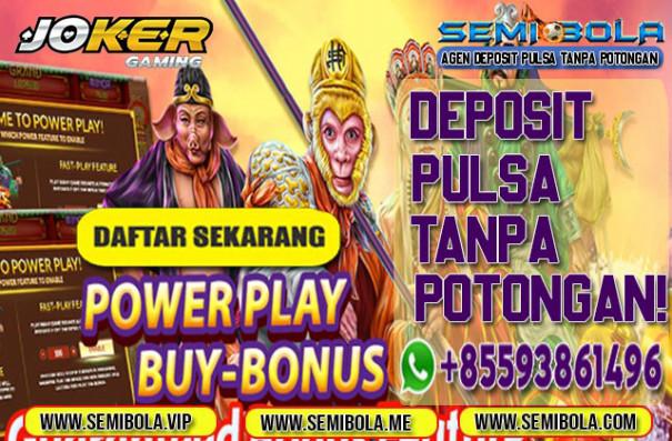 Semibola Situs Judi Slot Deposit Via Pulsa Tanpa Potongan Semibola Deposit Pulsa Tanpa Potongan